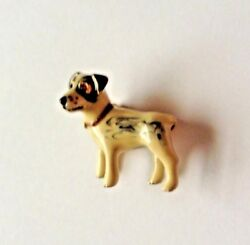Erwin Pearl Jack Russell Terrier Adorable Pooch Dog Pin Brooch