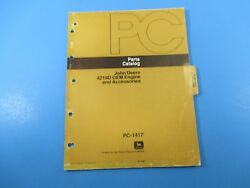 John Deere Parts Catalog 4219d Oem Engine And Accessories Pc-1417
