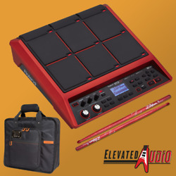 Roland SPD-SX SE Red Sampling Pad w/ 16 GB Memory,Free Roland Carry Bag