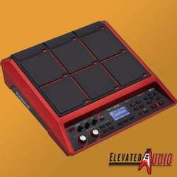 Roland SPD-SX SE Red Sampling Pad, NEW! FULL Warranty! CA's #1 Roland Dealer!