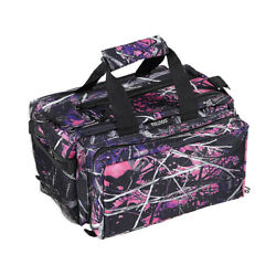 Bulldog Cases Deluxe Muddy Girl Camo Range Bag wStrap BD910MDG
