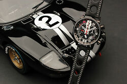 BRM V12 by Exoto  Shelby GT40 Mk II Le Mans Racing Chronograph  No. 2