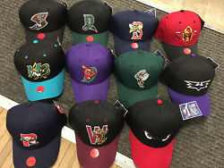 New Oc Sports Youth And Adult Milb Minor League Adjustable Baseball Hat Many Teams