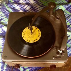 Vintage Webster Chicago Three Speed Record Player Model 100-601 Works
