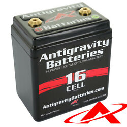 New Antigravity Batteries 16-cell Small Case Motorcycle Battery Ag-1601