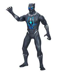 Marvel Black Panther Slash & Strike Black Panther Figure Comic Book Hero
