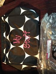 Thirty One Cosmetic Bag in Big Dot personalized with My Stuff