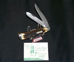 Schrade Walden 285uh Knife Circa-1967 Uncle Henry's Trapper First Release 27932