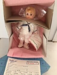 Madame Alexander Kurt Sound Of Music Boy Doll N Sailor Outfit Mib And Registration