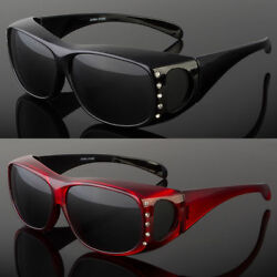 New Polarized Fit Over Women Sunglasses Cover All Frame Lens Driving Fishing $10.99