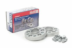 Handr 25mm Silver Bolt On Wheel Spacers For 2010-2013 Bmw X5 M Front Axle Only