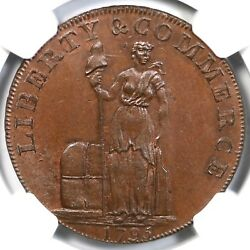 1795 Ngc Ms 65 Bn Lettered Edge Talbot Allum And Lee Token