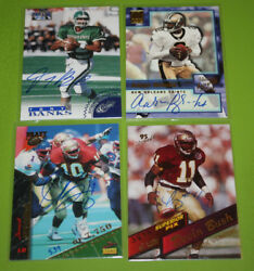 NFL Football Pack Pulled Authentic Autograph Auto  You Pick