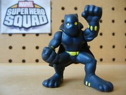 Marvel Super Hero Squad RARE Original BLACK PANTHER Yellow Eyes  Dots of Wave 5