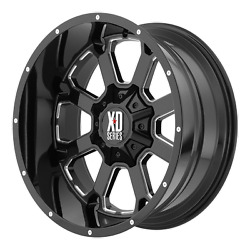 20 20x10 Xd825 Xd Buck 6x5.5 Chevy Gmc 33 Mt Wheel And Tire Package