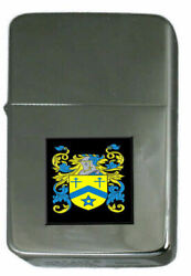 Huntly Family Crest Surname Coat Of Arms Cigarette Ligther Personalised Engraved