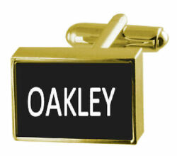 Engraved Money Clip with Cufflinks Name Oakley  GBP 44.99