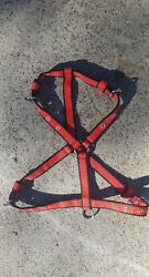 new red nylon dog harness slim RATED a safe  250 kg checkout Instagram videos