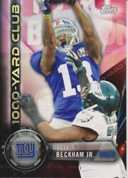 2015 Topps Football 1000 Yard Club Complete Your Set You Choose