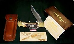 Schrade Lb8 Knife Uncle Henry Lockback 5 Closed W/packaging,papers And Loss Cert.