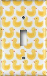 Rubber Duck Decorative Light Switch / Outlet / Rocker / Gfci Wall Plates