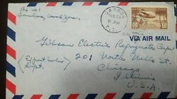 L 1940 Canal Zone, Airmail, 25th Anniversary Opening Panama Canal, Aiplane, 15c