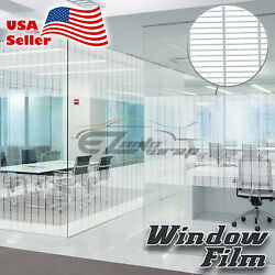 Small Box Glass Film Static Cling Office Window Patterned Decoration Privacy #44
