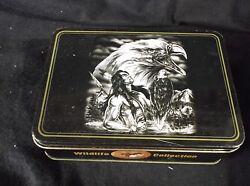 Collector Indian and Eagle Knife in Tin box 3