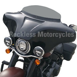 Batwing Fairing for Harley Davidson Dyna Switchback fairing 2012+ (4x5.25)