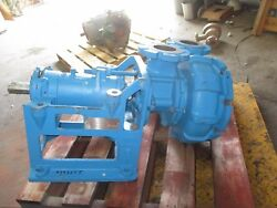 Gould 5000 4x4-12 Iron Pump 79337j Sn422a285 New Old Stock
