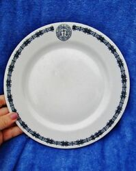 Grand Lodge Of Maryland Ioof Antique Vintage Restaurant Ware Plate Odd Fellows