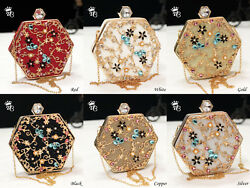 Evening Bags And Clutches For Women Brilliant Quality Gemstone Wedding Purse