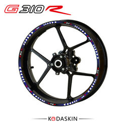 3d Wheel Rim Stickers Decals Tire Emblem Protector Stickers For Bmw G310r