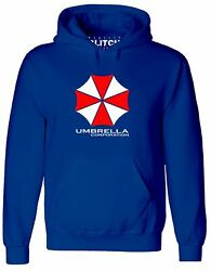 Menand039s Umbrella Corporation Hoodie Resident Game Evil Classic Cool Gamer Gaming