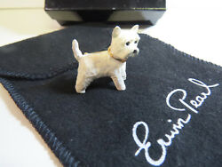 Erwin Pearl West Highland Terrier Pin from Adorable Pooches Series -Vintage 90's