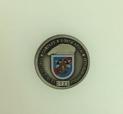 Special Forces Group Airborne Company B 3/20th 0023 Challenge Coin