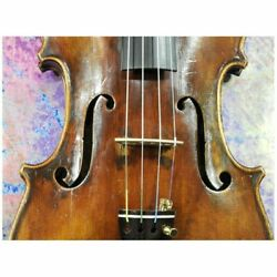 Fine Old French Violin c1800 in restored condition Warm mature Sound Powerful