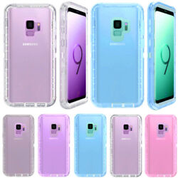 Wholesale Lot For Samsung S9 Transparent Case Coverclip Fits Otterbox Defender