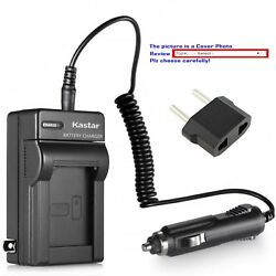 Kastar Battery Ac Travel Charger For Sony Np-qm71d And Sony Dcr-dvd200 Dcr-dvd201