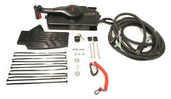 Remote Control Fits 1993 And Higher Mercury Mount Outboard With 8 Pins, 40hp And Up