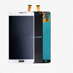 Pour Samsung Galaxy Note 4 Sm-n910f Andeacutecran Lcd Vitre Tactile Touch Screen+cover