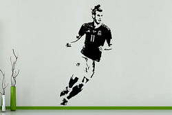 Gareth Bale Welsh Wales Football Player Decal Wall Art Sticker Picture