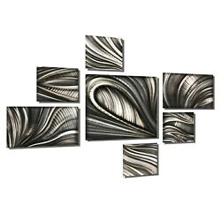 Large Metal Abstract Wall Sculpture Contemporary Art Decor Mid Century Modern