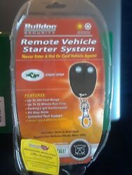 BULLDOG SECURITY REMOTE VEHICLE CAR STARTER SYSTEM RS82B Start & Stop  New