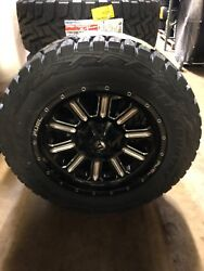 20 Fuel D620 Hardline 34 Toyo Rt Tires Package 5x150 Toyota Tundra