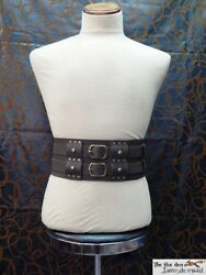 Gladiator/barbarian/viking Heavy Double Belt With Removable Belts Larp