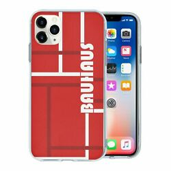 For Mobile Phone Tpu Back Case Cover Bauhaus Typography Tubes - T2326
