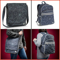 Backpack School Space for Kids Star Outer Constellations Messenger Bag