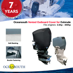 Oceansouth Outboard Motor Engine Vented Cover For Evinrude