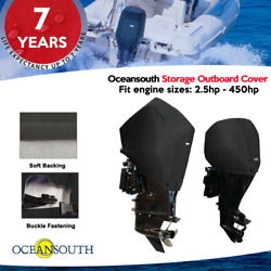Oceansouth Outboard Motor Half / Storage Cover For Mercury